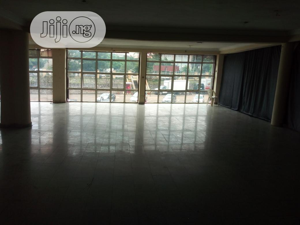 Shop Space 500sqm First Floor in Plaza on the Road at Wuse 2
