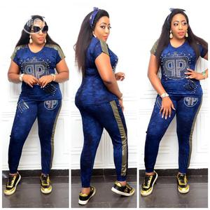 New Female Turkey Quality Blue Polo Jean Up and Down   Clothing for sale in Lagos State, Lagos Island (Eko)