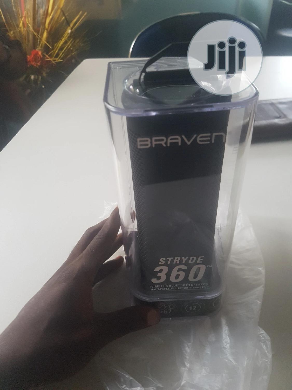 Braven Stryde 360 (Waterproof Bluetooth) | Audio & Music Equipment for sale in Ikeja, Lagos State, Nigeria
