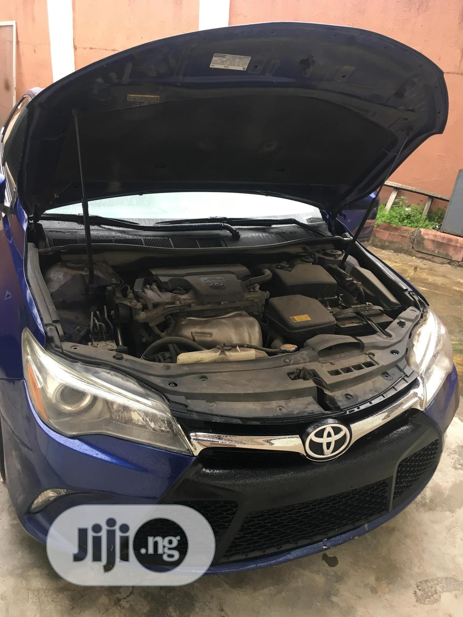 Toyota Camry 2016 Blue   Cars for sale in Amuwo-Odofin, Lagos State, Nigeria