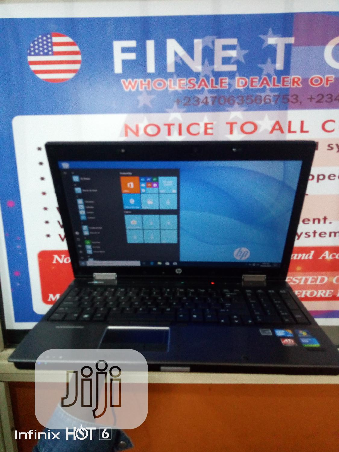 Laptop HP EliteBook 8540W 8GB Intel Core i7 HDD 640GB | Laptops & Computers for sale in Ikeja, Lagos State, Nigeria