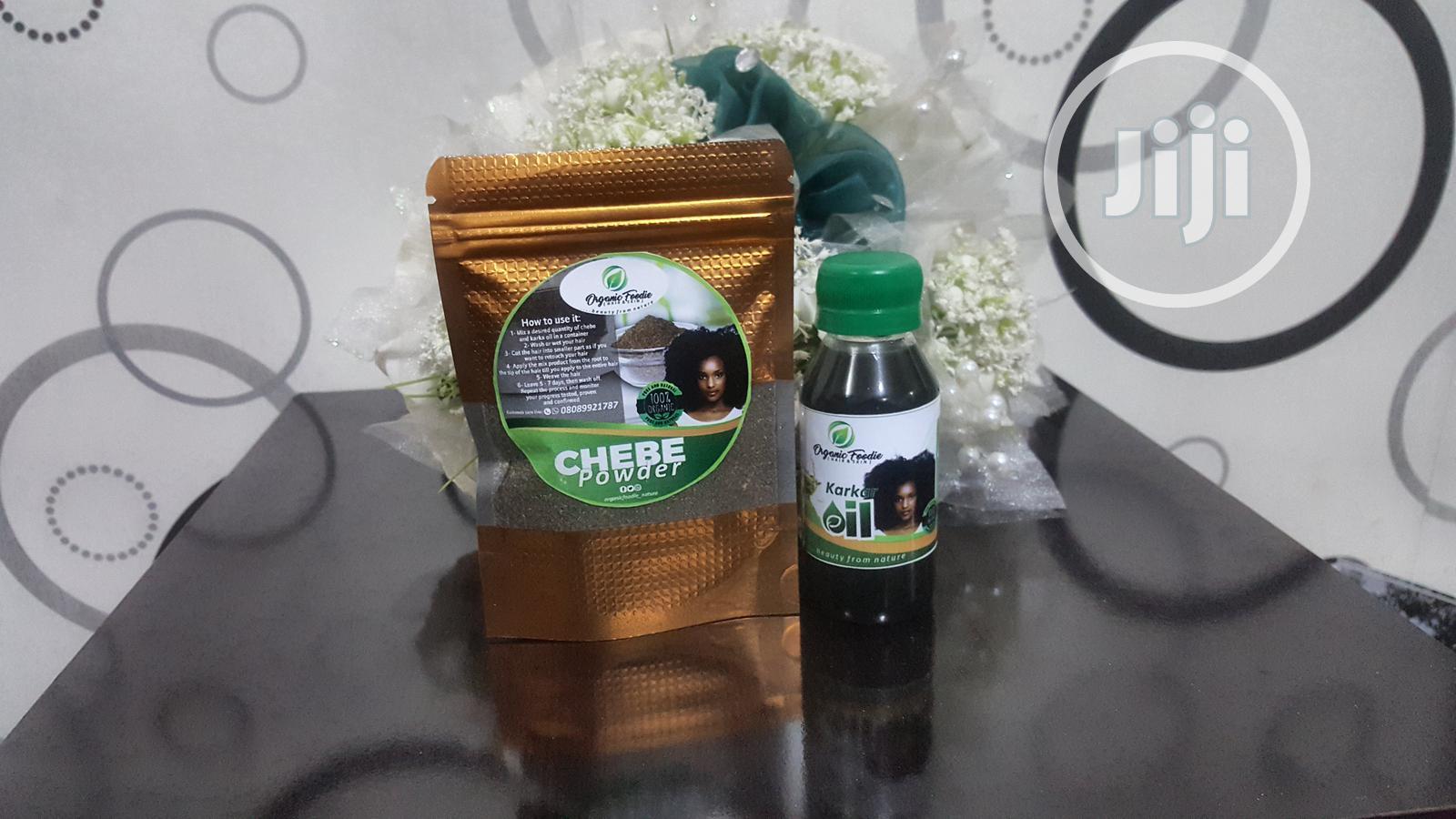 Organic Foodie Chebe Powder And Karkar Oil