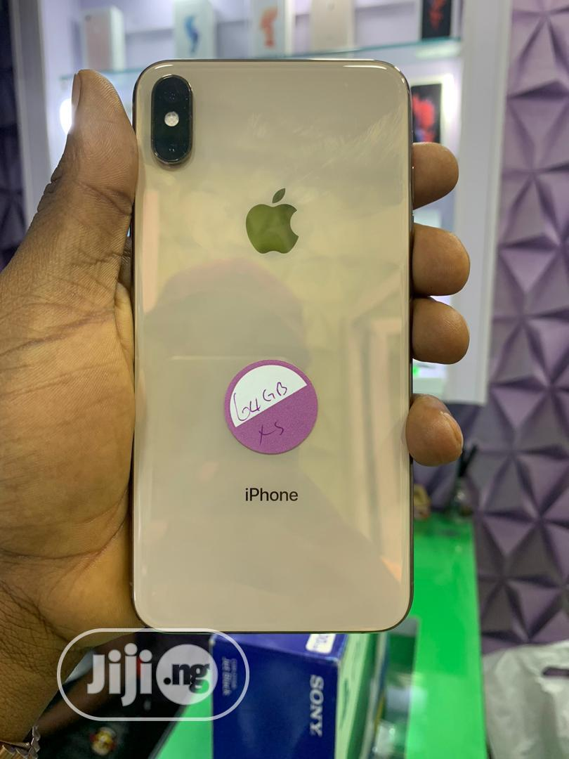 Apple iPhone XS Max 64 GB Black | Mobile Phones for sale in Ikeja, Lagos State, Nigeria