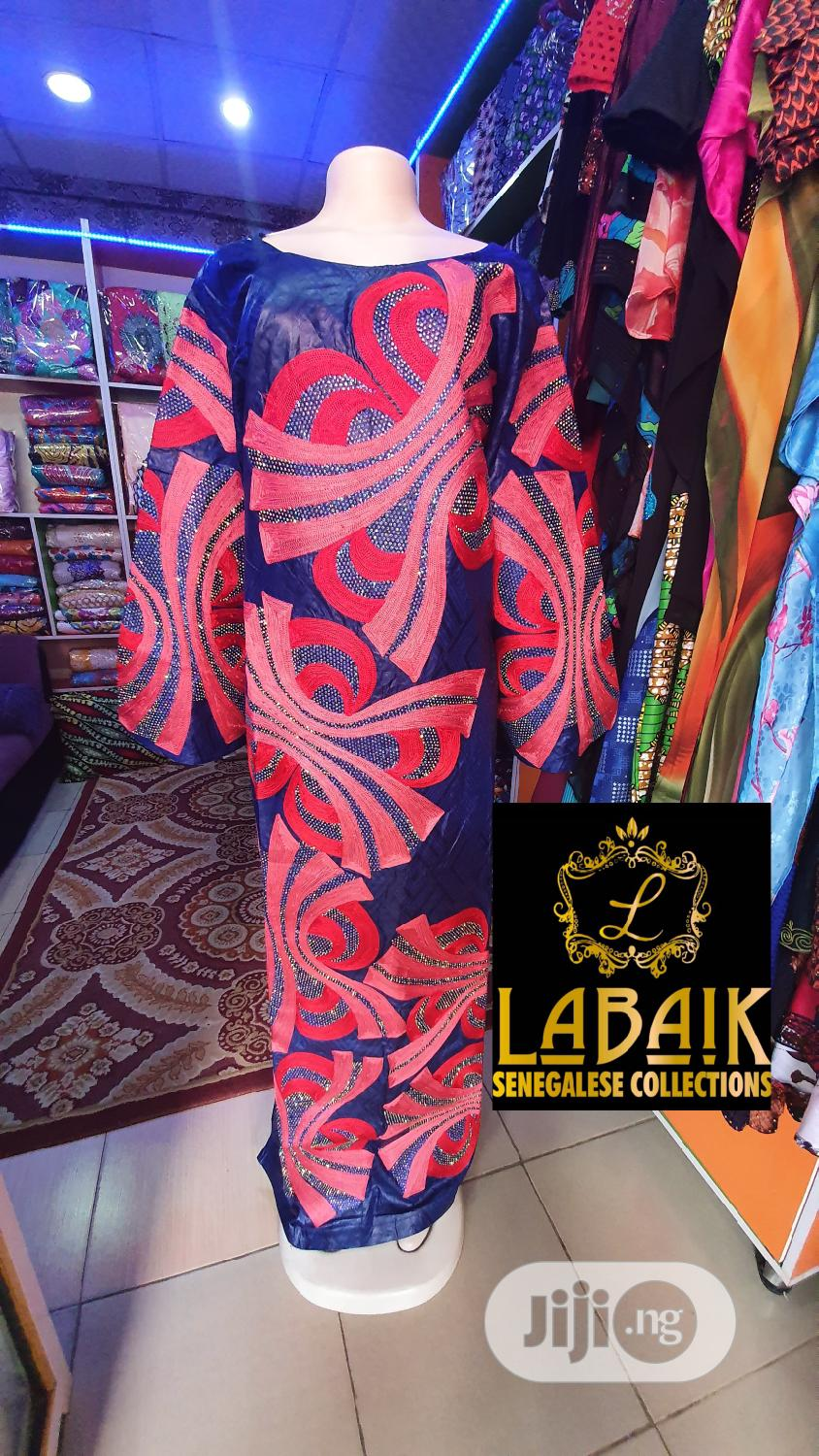Beautiful Senegalese Galila Gown With Full Design   Clothing for sale in Dutse-Alhaji, Abuja (FCT) State, Nigeria