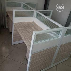 Unique 4 Man Office Workstation With 4 Mobile Drawers | Furniture for sale in Lagos State, Ojo