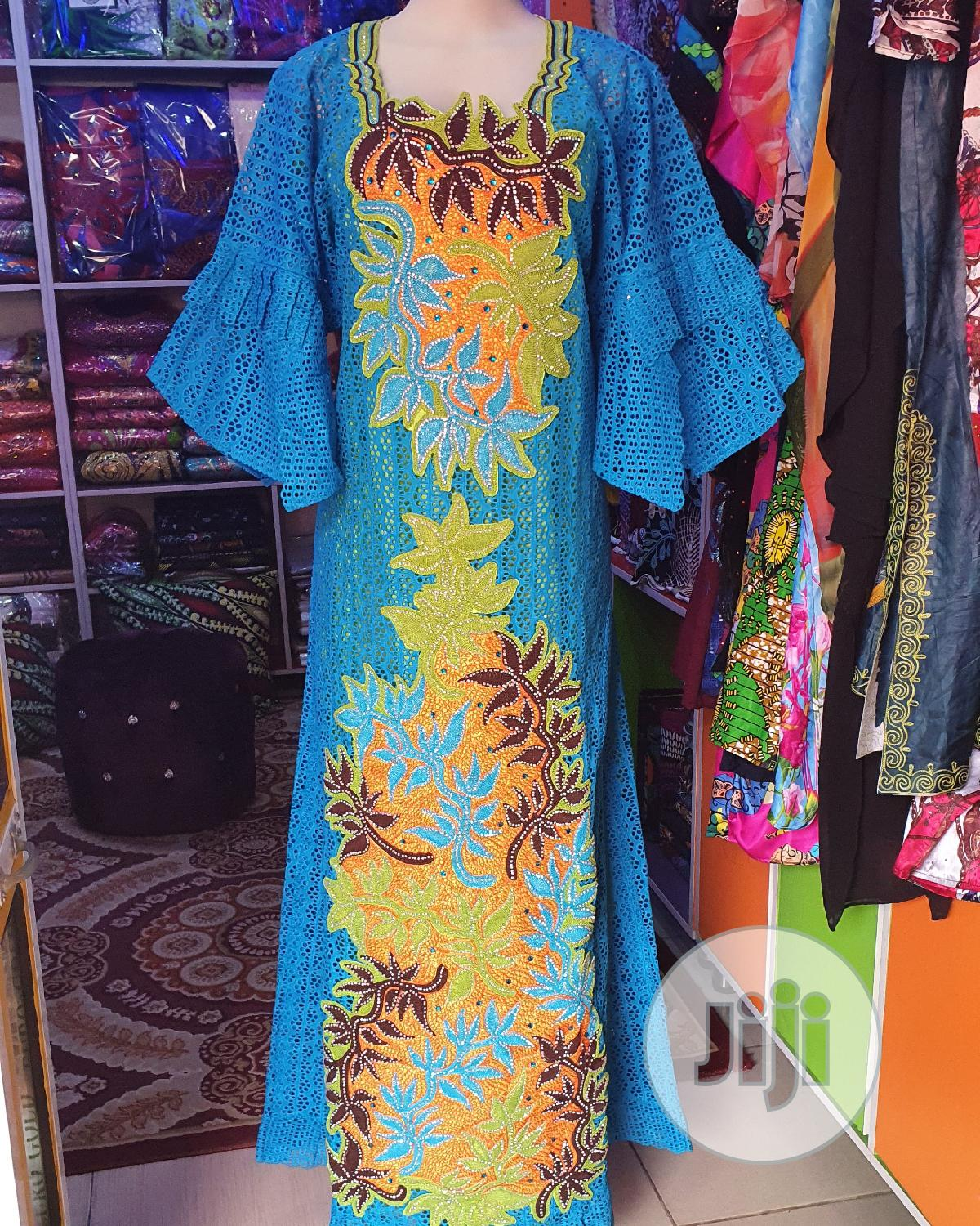 Beautiful Senegalese Lace Gowns Available