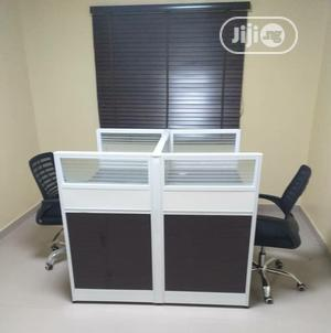 2 Man Office Workstation Table With 2 Mobile Drawers | Furniture for sale in Lagos State, Ojo