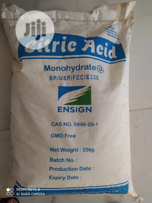 Archive: Citric Acid Monohydrate