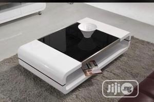 A White Center Table.   Furniture for sale in Lagos State, Ajah