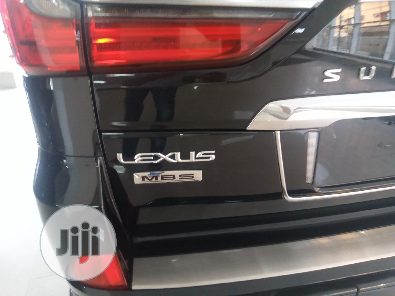 New Lexus LX 2019 570 Two-Row Black | Cars for sale in Garki 2, Abuja (FCT) State, Nigeria
