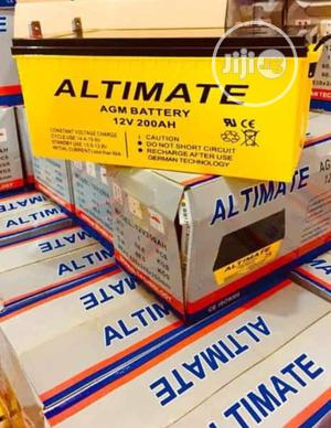 12v 200ah Altimate Battery Is Available In Now | Solar Energy for sale in Lagos State, Ojo