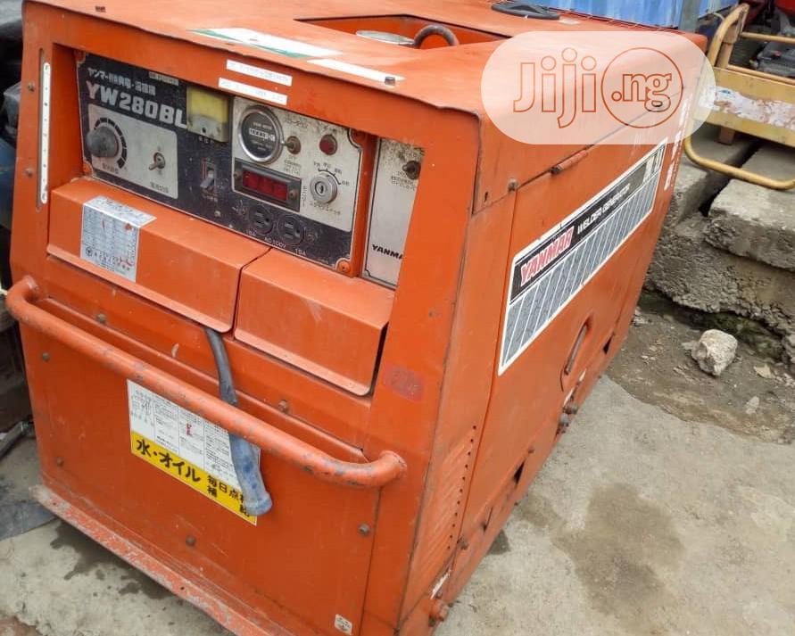 Japanese Diesel Welding Generator 280A 10KVA Light