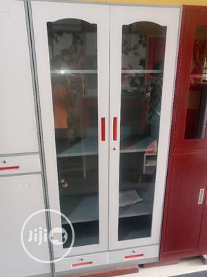 Classic Design Full Glass Door Metal Filing Cabinet   Furniture for sale in Lagos State, Lagos Island (Eko)