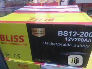 12v 200ah Bliss Solar Battery | Solar Energy for sale in Lagos State, Ojo