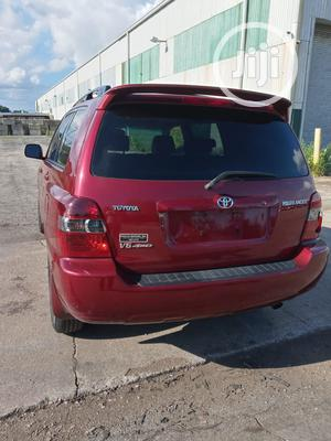 Toyota Highlander 2007 Limited V6 4x4 Red | Cars for sale in Lagos State, Ikeja