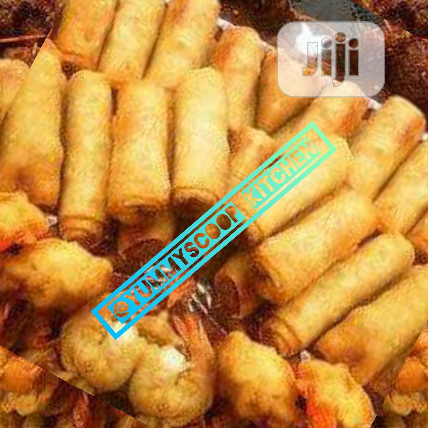 A Full Tray Of Small Chops