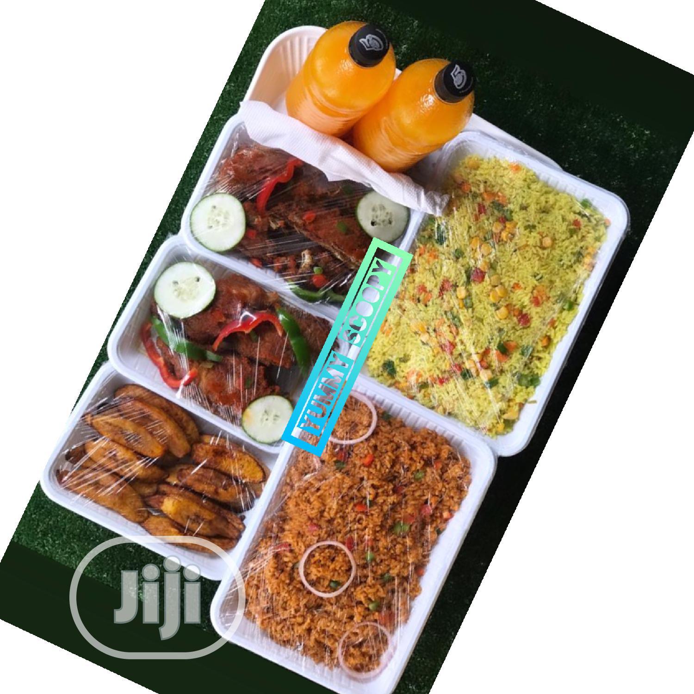 Yummy Food Tray