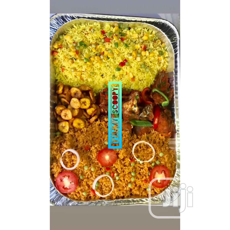 Mini Food Tray