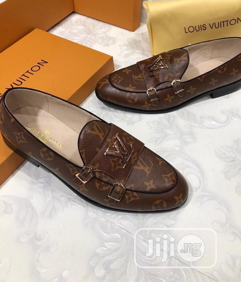 Archive: Louis Vuitton Brown Leather Shoes