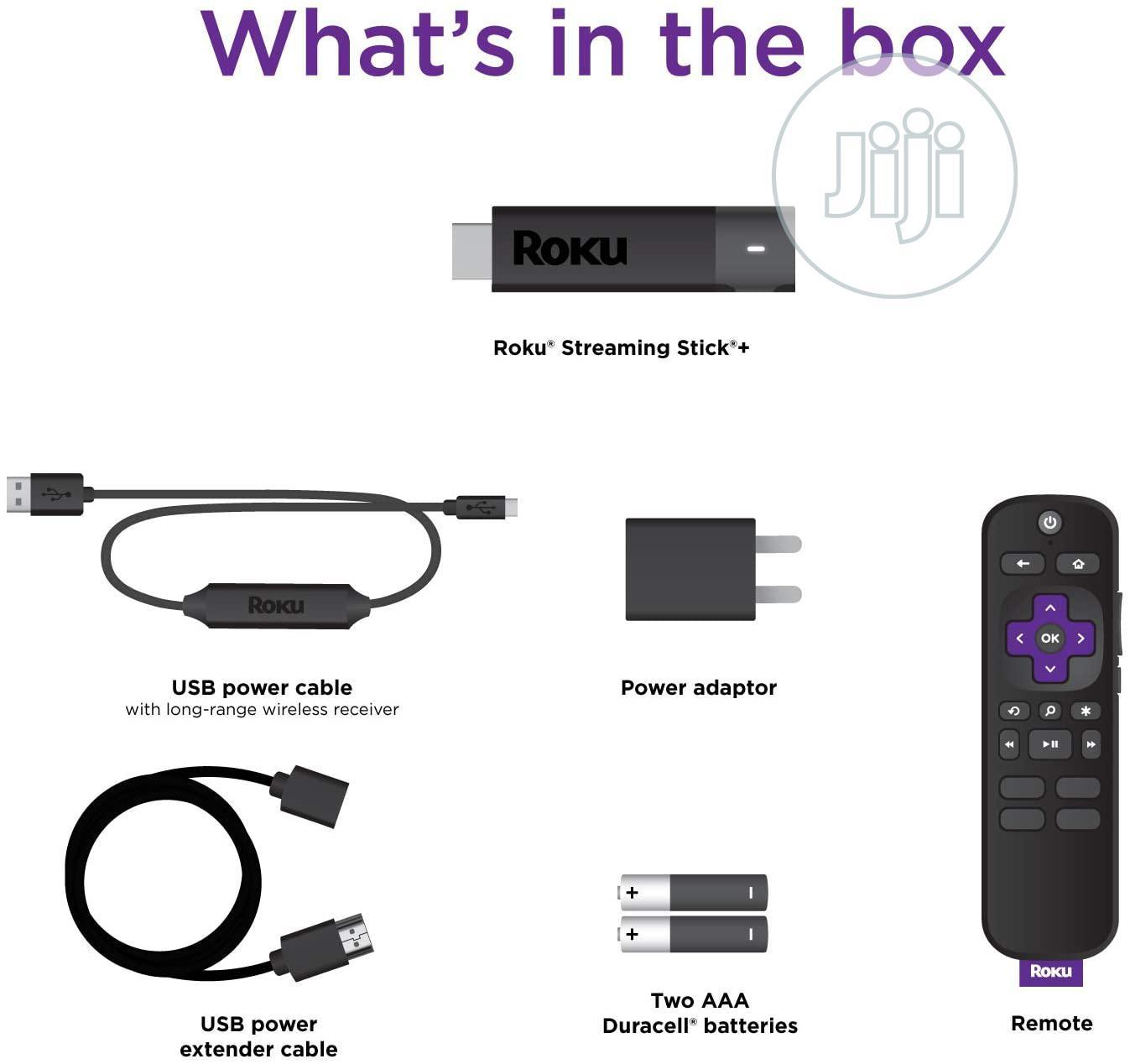 Archive: Roku Streaming Stick+ 4k (HD/4K/HDR)