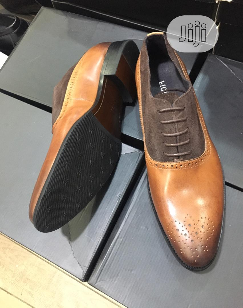 Brown Leather Men's Shoes | Shoes for sale in Lagos Island (Eko), Lagos State, Nigeria