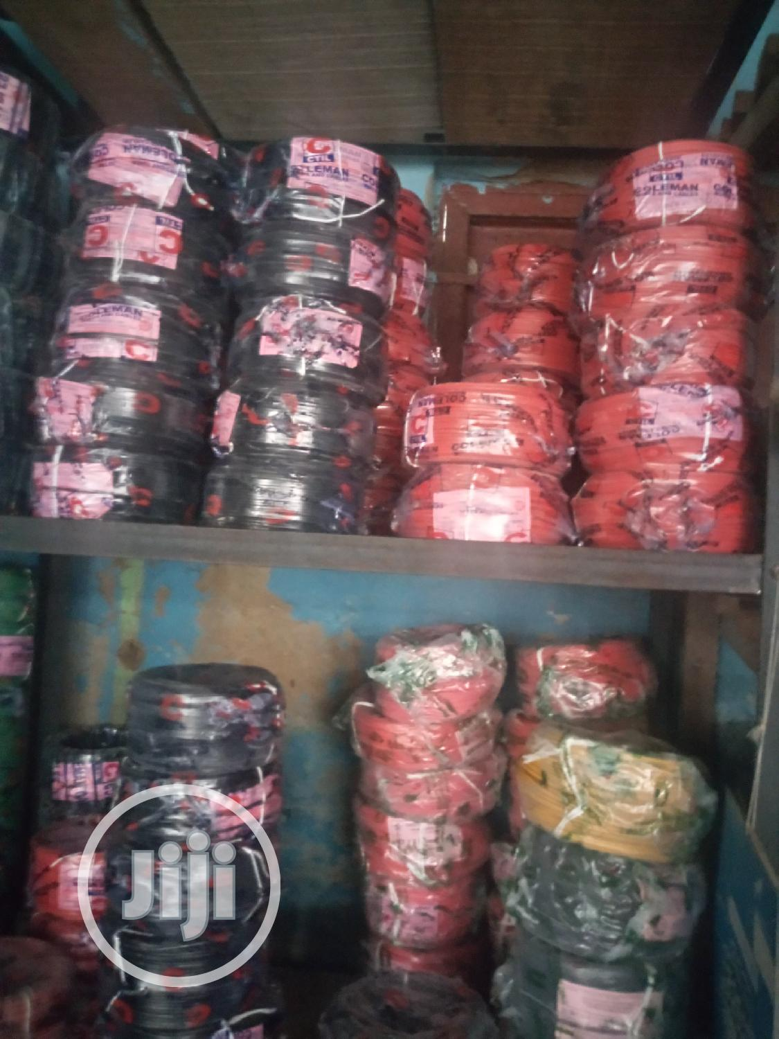 100meters Coleman Nigeria Wire And Cable New Design
