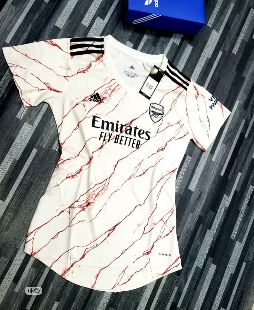 Arsenal Official 20/21 Female Away Jersey