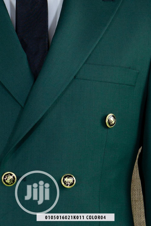 Quality Texudos Wedding Suit_green   Clothing for sale in Lagos Island (Eko), Lagos State, Nigeria