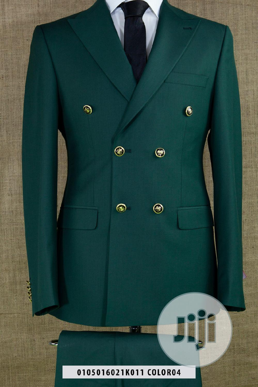 Quality Texudos Wedding Suit_green