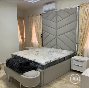 Luxurious Beds With Puff Table   Furniture for sale in Lagos State, Lekki