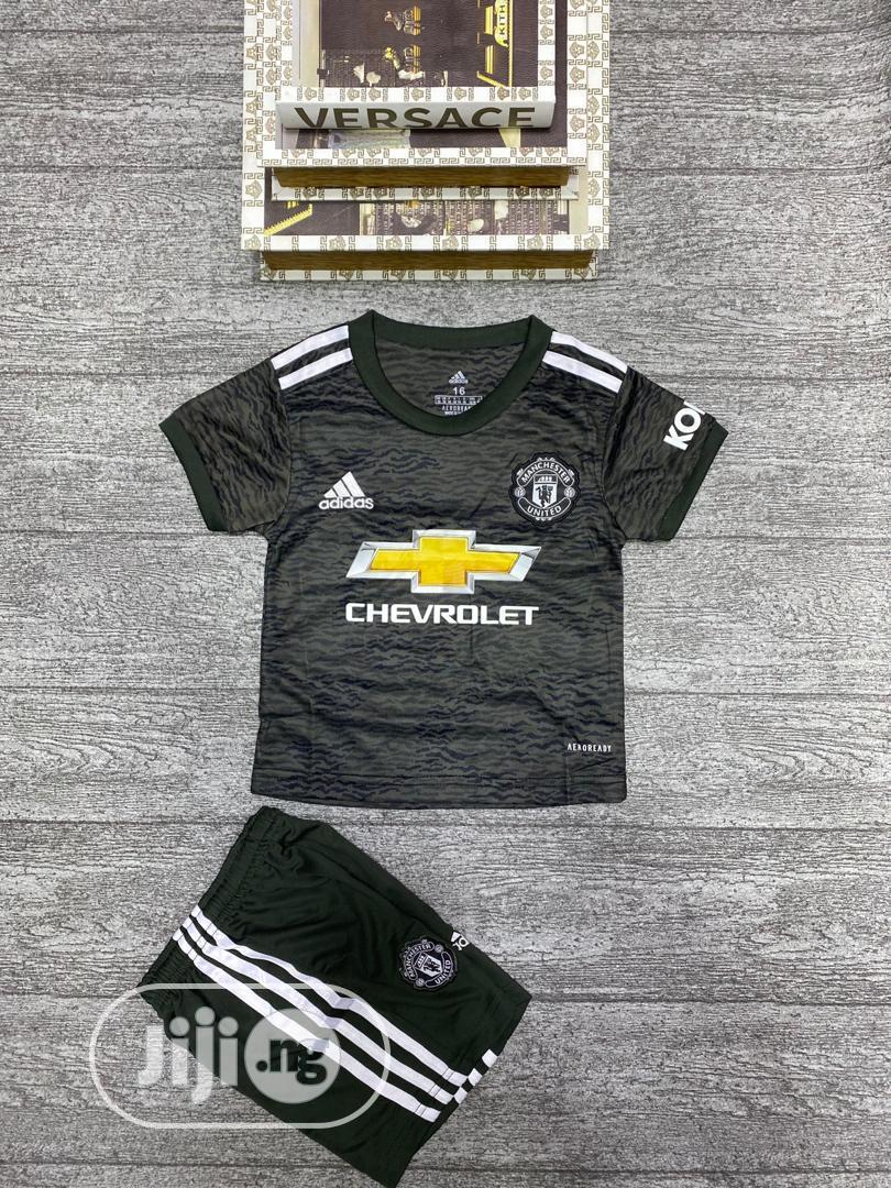 Authentic Manchester United 2020 21 Season Away Kit In Lagos Island Eko Children S Clothing Rash Jersey Boss Collection Jiji Ng