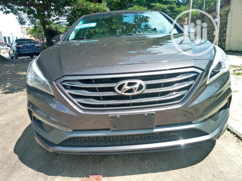 Hyundai Sonata 2015 Brown