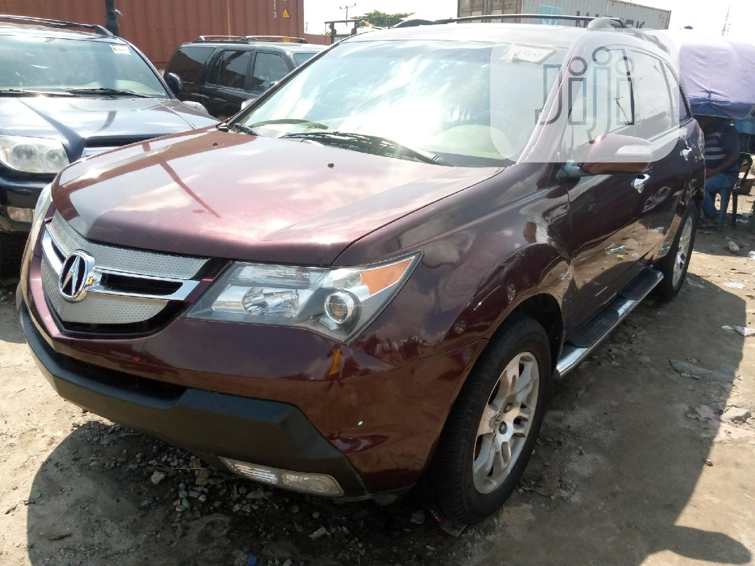 Acura MDX 2008 SUV 4dr AWD (3.7 6cyl 5A) Brown