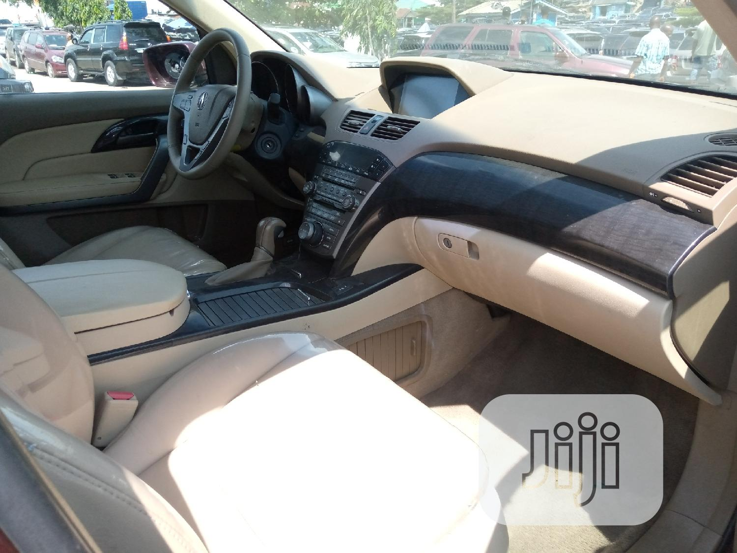 Acura MDX 2008 SUV 4dr AWD (3.7 6cyl 5A) Brown   Cars for sale in Apapa, Lagos State, Nigeria