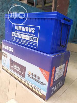 12v 200ah Luminous Battery Now | Solar Energy for sale in Lagos State, Ojo