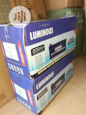 12v 200ah Luminous Battery Now Available | Solar Energy for sale in Lagos State, Ojo