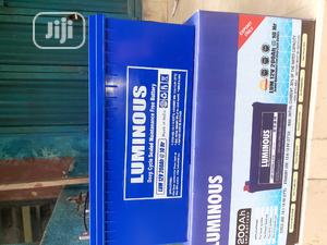 12v 200ah Luminous Battery Is Now Available | Solar Energy for sale in Lagos State, Ojo