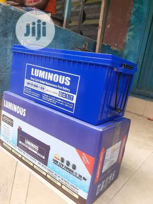 12v 200ah Luminous Battery Is Available | Solar Energy for sale in Lagos State, Ojo