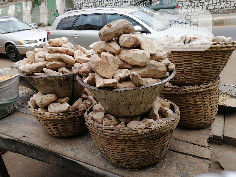 Free Delivery Within Ibadan Yam Flour (Elubo Isu) From Kaima