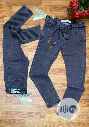 Authentic Offwhite Jeans Trousers | Clothing for sale in Lagos State, Alimosho
