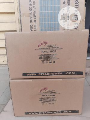 12v 150ah Rita Battery Is Available | Solar Energy for sale in Lagos State, Ojo