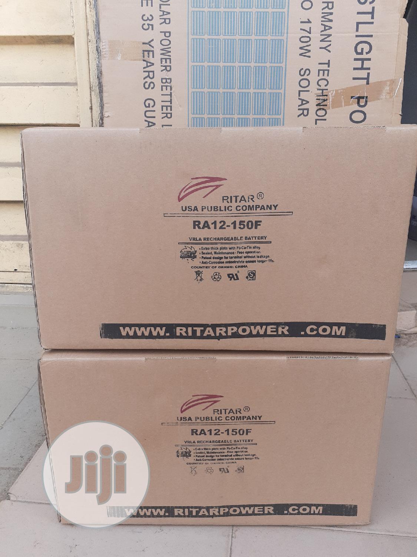 12v 150ah Rita Battery Available Now