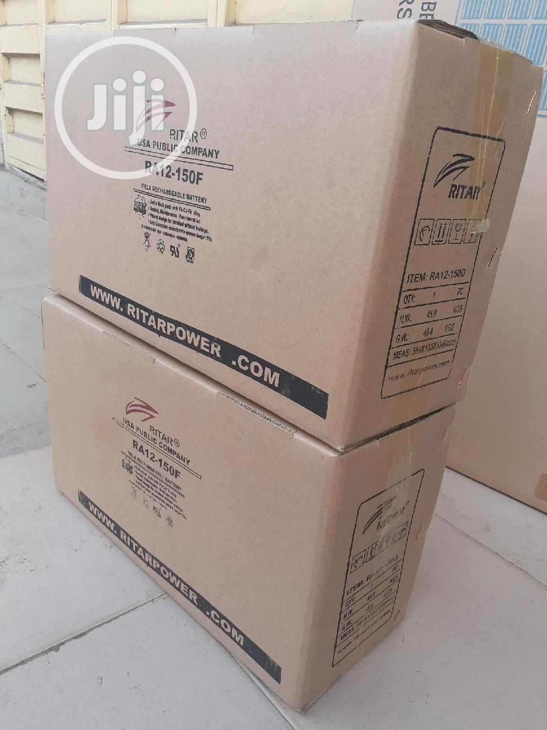 12v 150ah Rita Battery Is Available Now