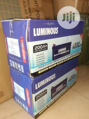 12v 200ah Luminous Battery Now In | Solar Energy for sale in Lagos State, Ojo