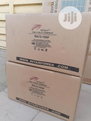 12v 150ah Rita Battery Is Available Now | Solar Energy for sale in Lagos State, Ojo