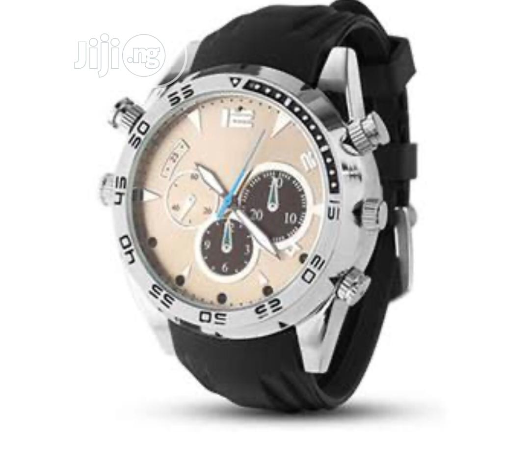 Spy Rubber Camera Watch | Security & Surveillance for sale in Lekki, Lagos State, Nigeria