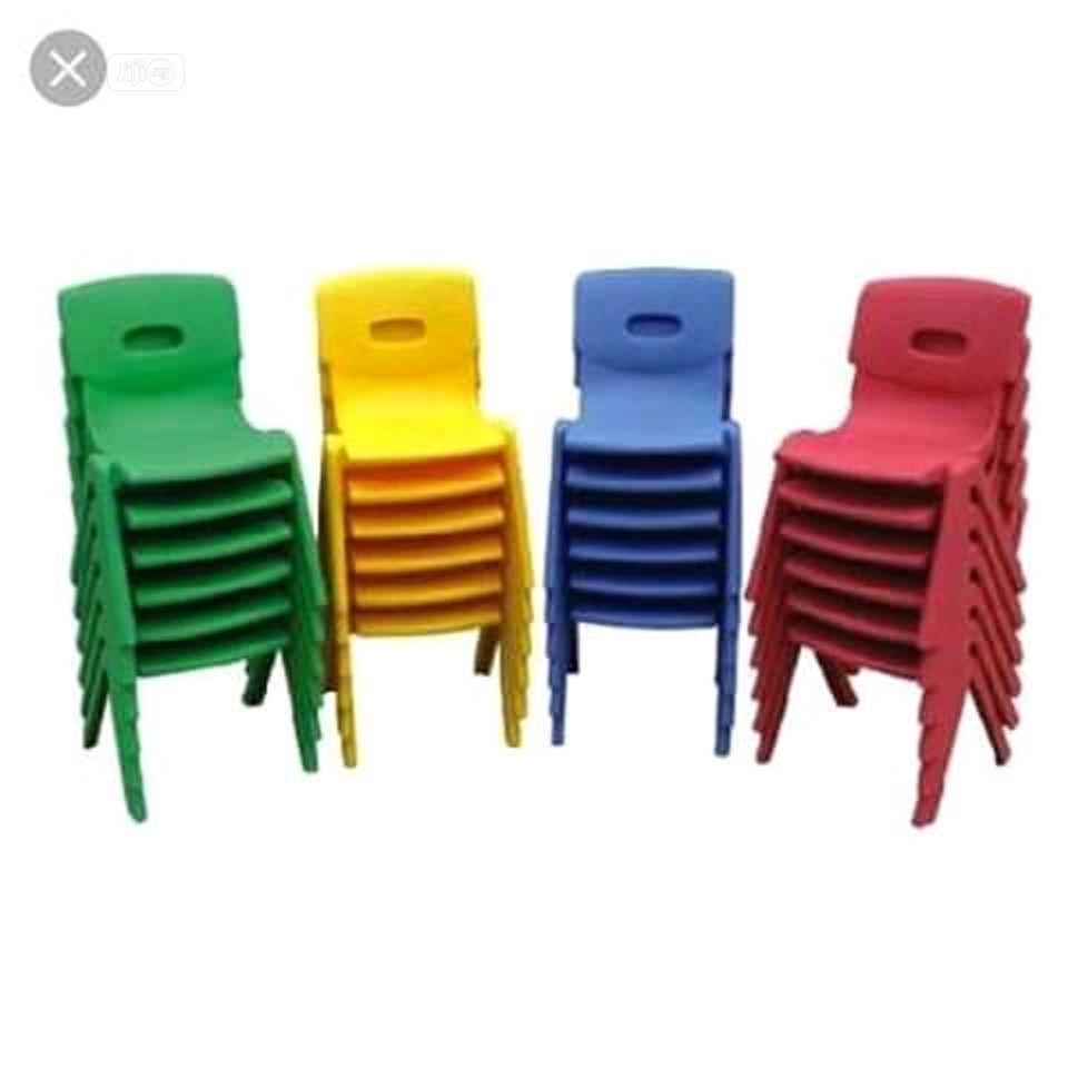Strong Children Plastic Chair Without Hand