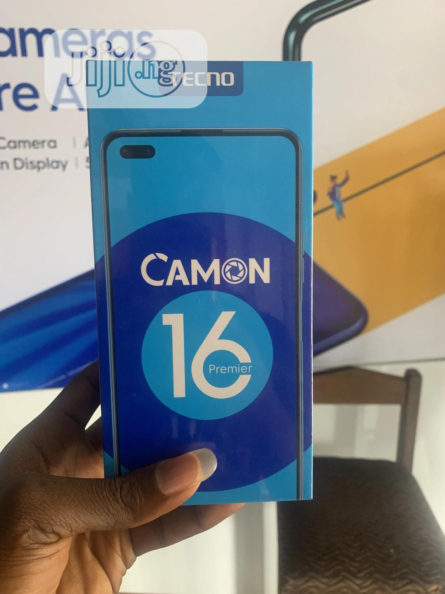 New Tecno Camon 16 Premier 128GB