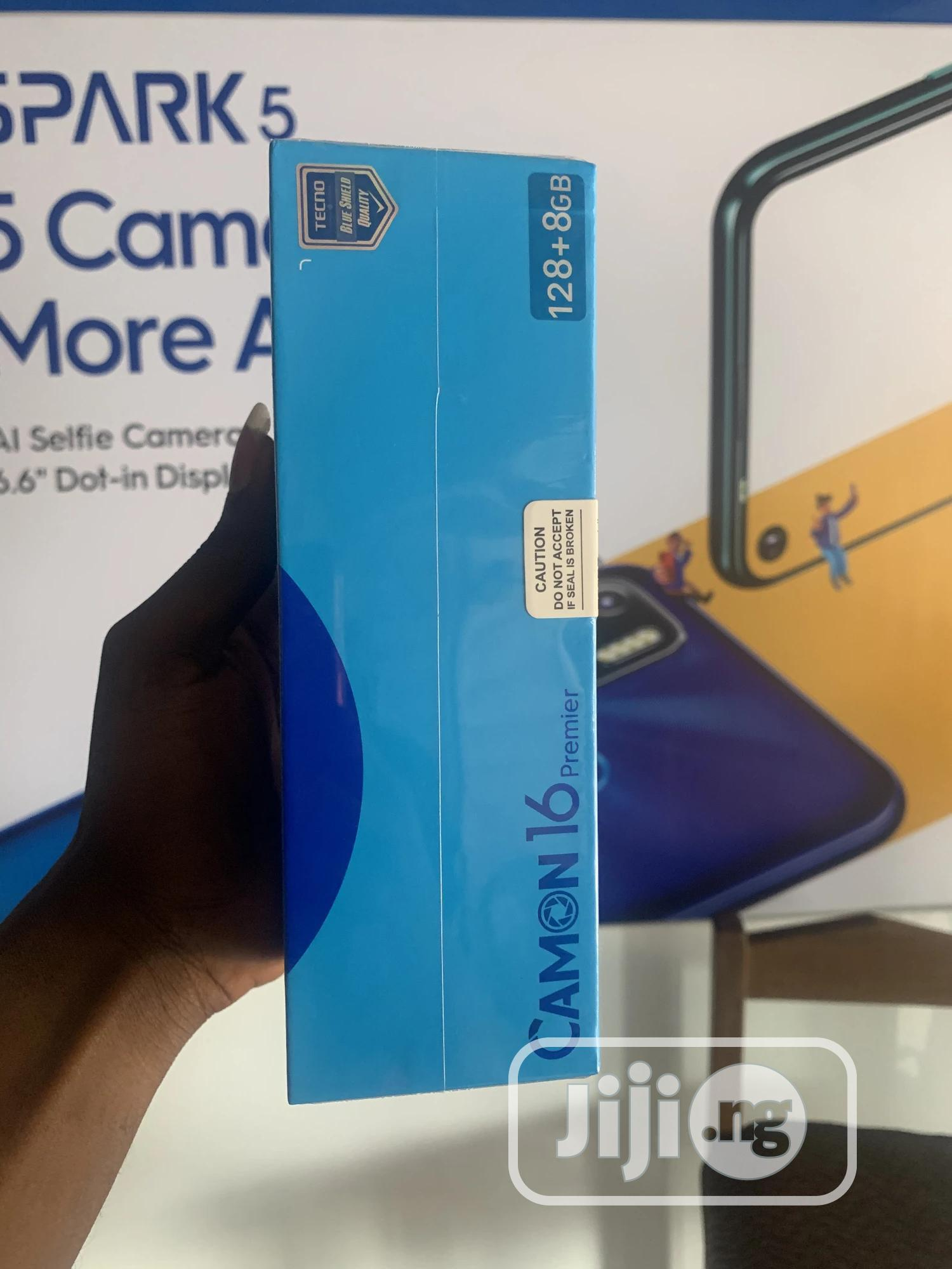 New Tecno Camon 16 Premier 128GB | Mobile Phones for sale in Ikeja, Lagos State, Nigeria