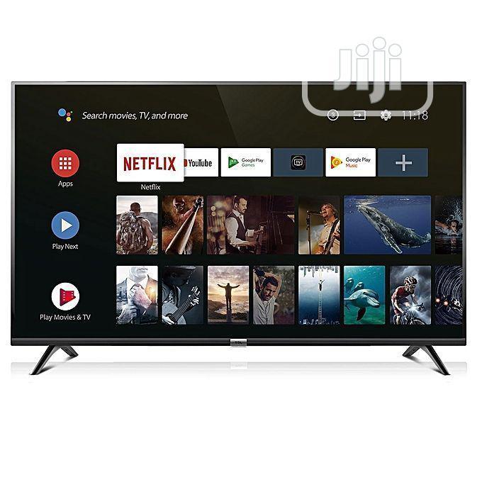 Syinix 50′′ 4K Ultra HD Android TV , Frameles